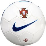 Nike Portugal Supporter's Ball - Pelota de fútbol, color blanco / azul, talla 5